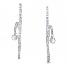 Diamond Stud Earrings SGE207 (Earrings)