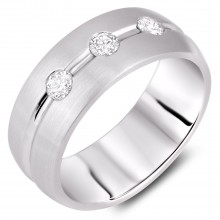 Diamond Gent's Rings BNJA01398R (Rings)