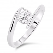 Diamond Solitaire Rings SGR738 (Rings)