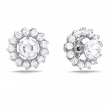 Diamond Stud Earrings SGE233 (Earrings)