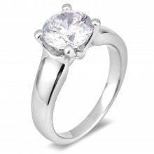 Diamond Solitaire Rings SGR992 (Rings)