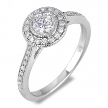 Diamond Engagement VRE00020W ()