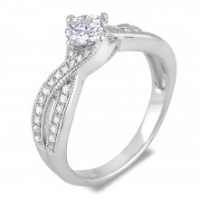 Diamond Engagement VRE00021W ()