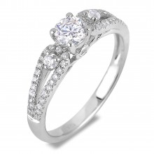 Diamond Engagement VRE00024W ()