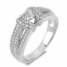 Diamond Engagement VRE00026W ()