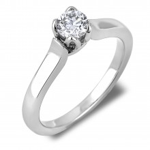 Diamond Solitaire Rings SGR1021 (Rings)