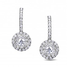 Diamond Dangle Earrings SGE299 (Earrings)