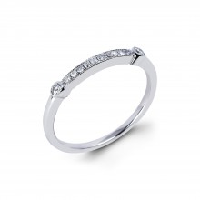 Diamond Wedding Bands SGR724W (Rings)