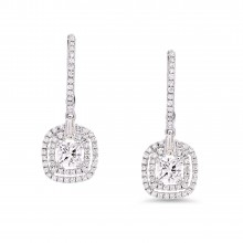 Diamond Dangle Earrings SGE210 (Earrings)