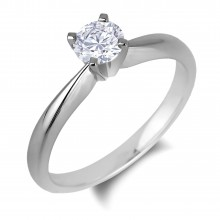 Diamond Solitaire Rings SGR1083 (Rings)