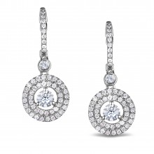 Diamond Dangle Earrings SGE218 (Earrings)