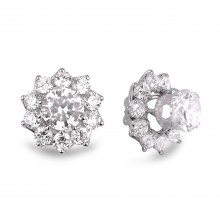 Diamond Stud Earrings SGE232 (Earrings)