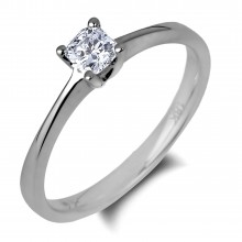 Diamond Solitaire Rings SGR1107 (Rings)