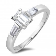 Diamond Three Stone Rings SGR1123 (Rings)