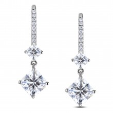 Diamond Dangle Earrings SGE329 (Earrings)