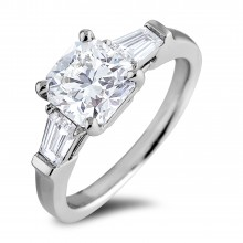 Diamond Three Stone Rings SGR1134 (Rings)