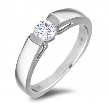 Diamond Solitaire Rings SEC2137 (Rings)
