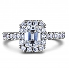 Diamond Engagement Halo Rings SGR1190 (Rings)