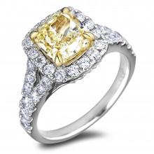 Diamond Engagement Halo Rings SGR1164 (Rings)