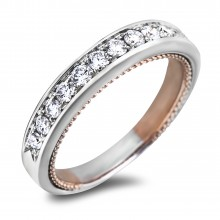 Diamond Wedding Bands SGR1155W (Rings)