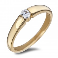 Diamond Solitaire Rings SGR1145 (Rings)