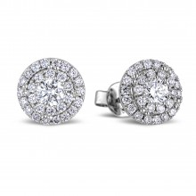 Diamond Stud Earrings SGE282 (Earrings)