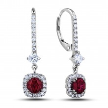 Diamond Dangle Earrings SGE329-284E (Earrings)