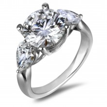 Diamond Three Stone Rings SGR1121 (Rings)