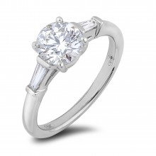 Diamond Three Stone Rings SGR1127 (Rings)