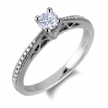Diamond Engagement Rings SGR848 (Rings)