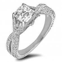 Diamond Engagement Rings SGR447 (Rings)