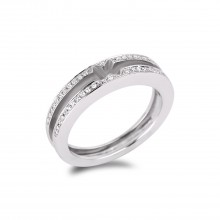 Diamond Wedding Bands SGR718W (Rings)