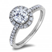 Diamond Engagement Halo Rings SGR1213 (Rings)