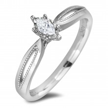 Diamond Solitaire Rings AFCR2133 (Rings)