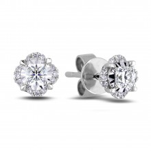 Diamond Stud Earrings AFCE1033007 (Earrings)
