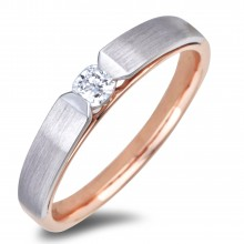 Diamond Solitaire Rings AFR2106L (Rings)