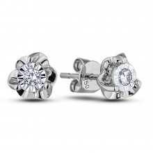 Diamond Stud Earrings AFCE0013 (Earrings)