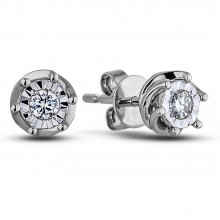 Diamond Stud Earrings AFCE0027 (Earrings)