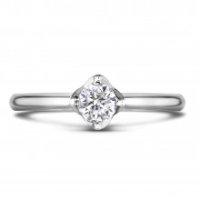Diamond Solitaire Rings SJL-SEC-RD26915 (Rings)