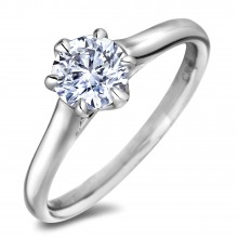 Diamond Solitaire Rings SGR1240 (Rings)