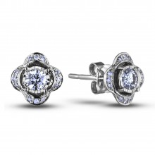 Diamond Stud Earrings AFCE0192010 (Earrings)