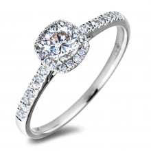 Diamond Engagement Halo Rings AFR2268030 (Rings)