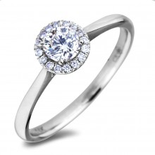 Diamond Engagement Halo Rings AFR2266030 (Rings)
