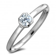 Diamond Solitaire Rings SGR1249-XP (Rings)