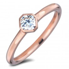 Diamond Solitaire Rings SGR1258 (Rings)