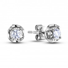 Diamond Stud Earrings AFCE1004010 (Earrings)
