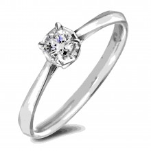 Diamond Solitaire Rings AFR2681015 (Rings)