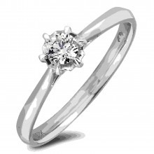 Diamond Solitaire Rings AFR2686015 (Rings)