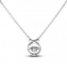 Diamond Alphabet & Zodiac SGP394-TAU (Pendants)