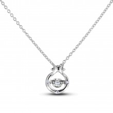 Diamond Alphabet & Zodiac SGP394-PIS (Pendants)